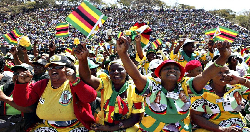 Zimbabwe was declared an independent country